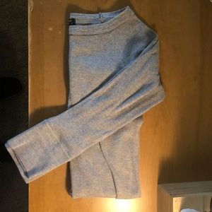 MIMI & COCO Gray 3/4 Sleeve Shirt, Size M